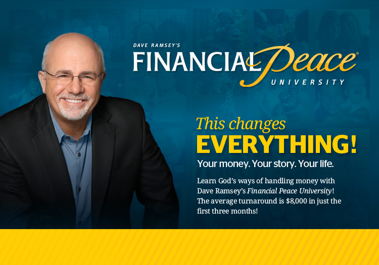 Image result for 2017 Dave Ramsey Financial Peace University logo