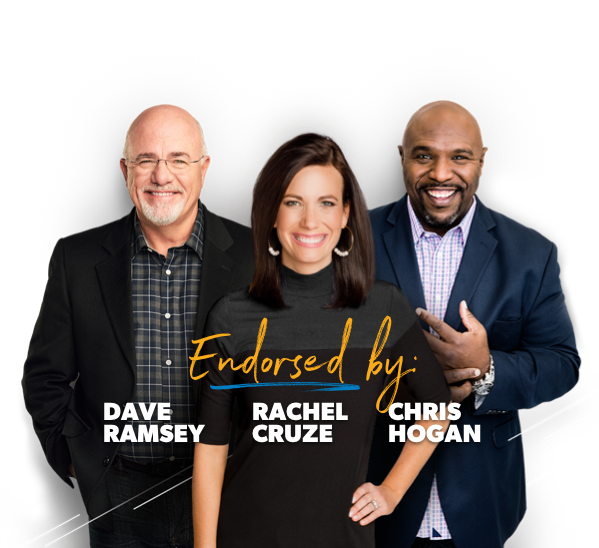 Ramsey Personalities: Dave Ramsey, Chris Hogan, and Rachel Cruze