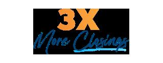 3x More Closings