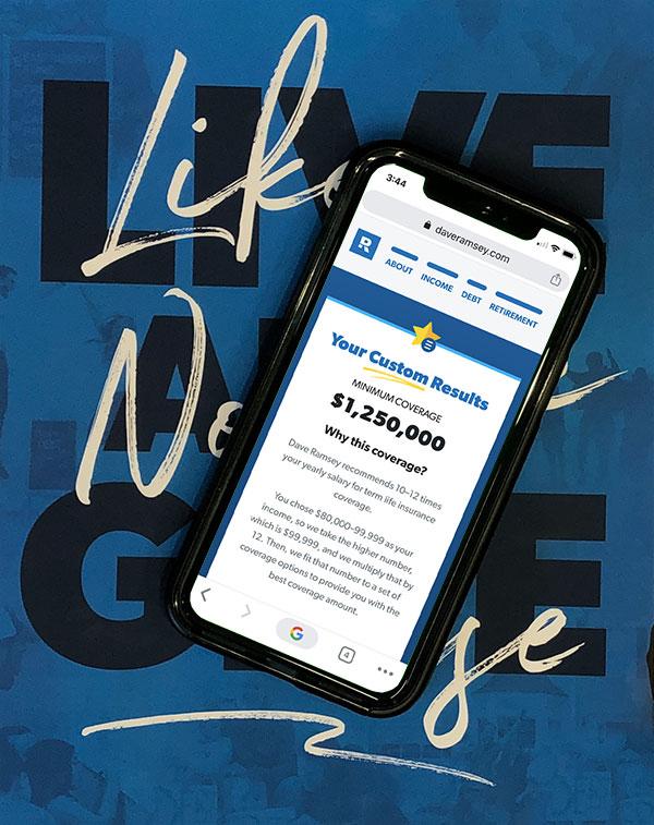 Term Life Insurance Calculator Daveramsey Com