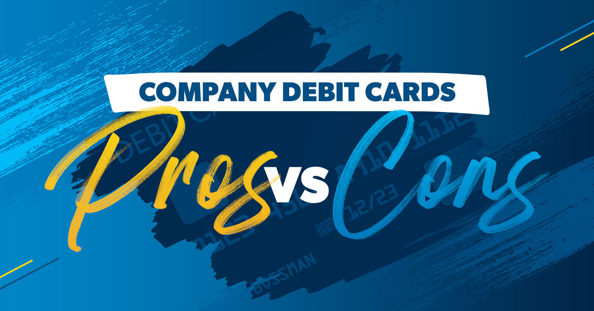 company debit cards