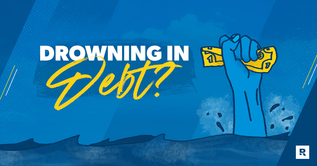 What to Do if You're Drowning in Debt