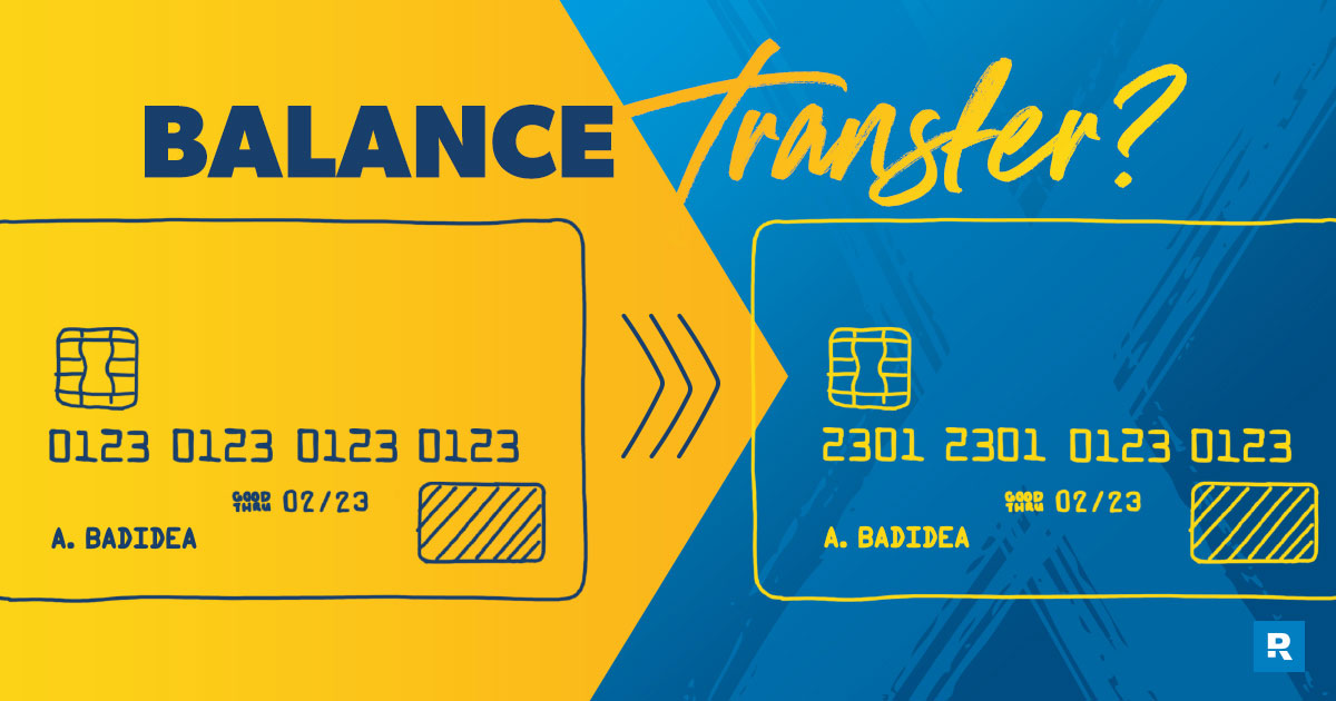 what is a credit card balance transfer