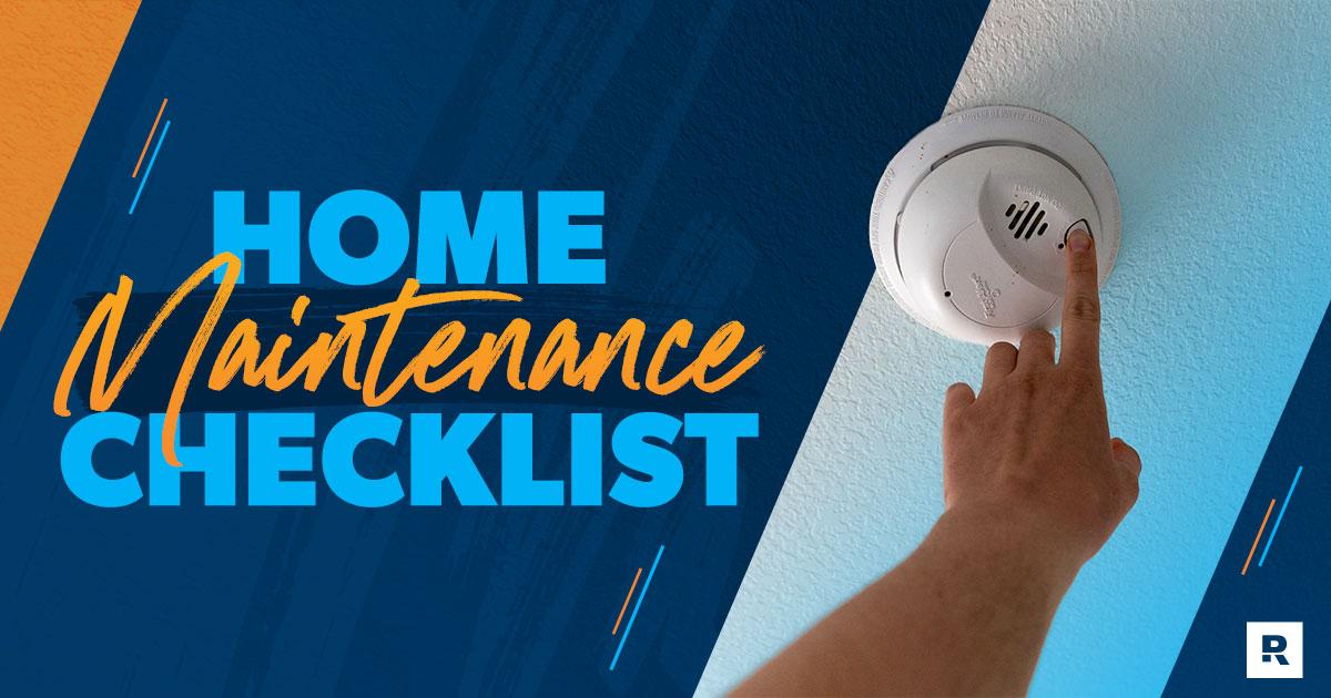 Home Maintenance: Your Handy Checklist
