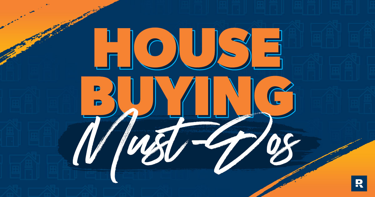 House buying must-dos