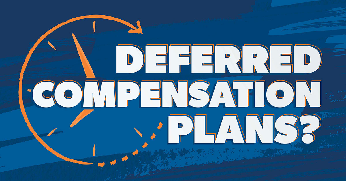 deferred compensation plans