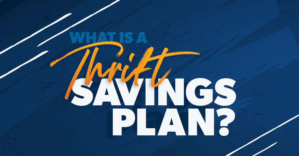 What is a thrift saving plan?