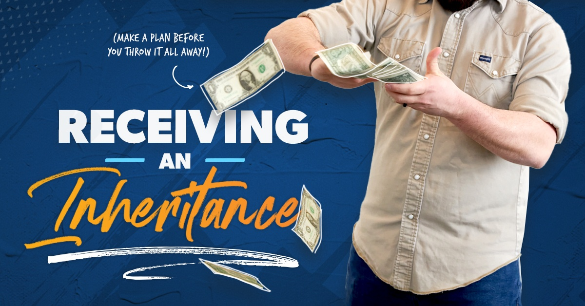 What to do when receiving an inheritance.