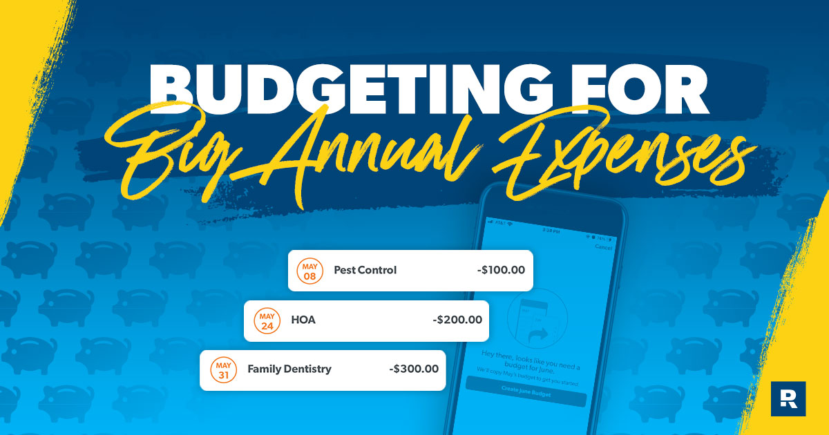 Budgeting for Big Annual Expenses