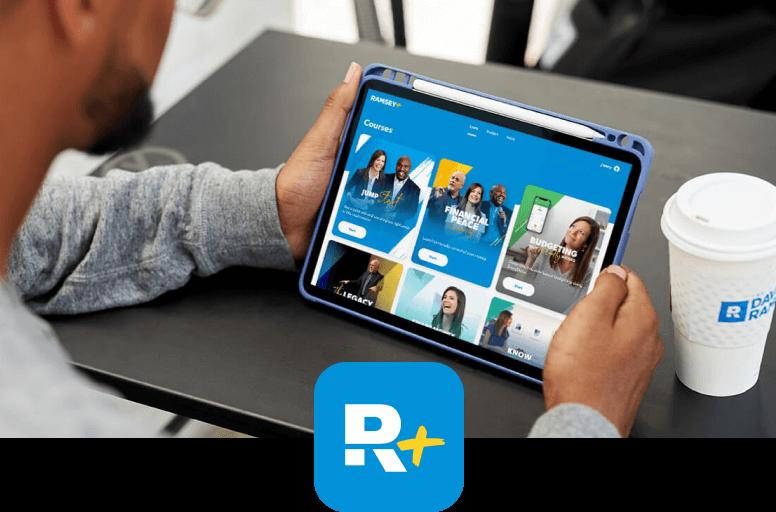 Ramsey+ Courses on iPad