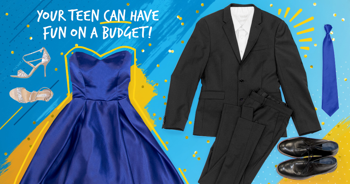 Your teen can have fun at prom on a budget