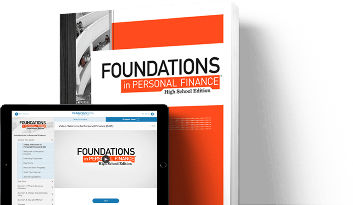 Foundations in Personal Finance: High School Edition