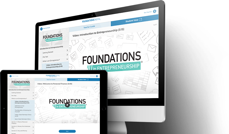 Foundations in Entrepreneurship