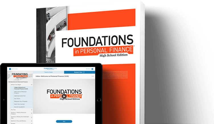 <i>Foundations in Personal Finance: High School Edition</i>