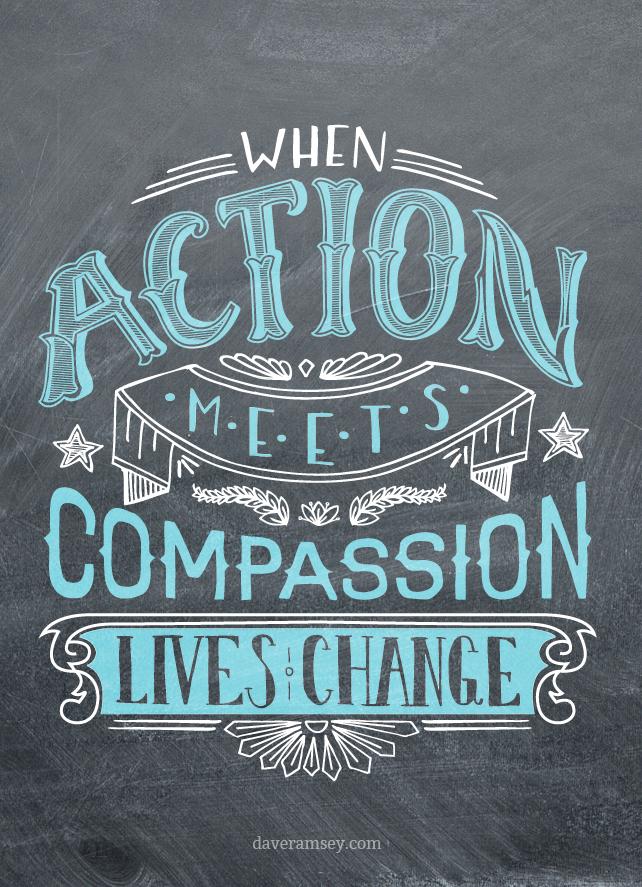 When Action Meets Compassion Daveramsey Com