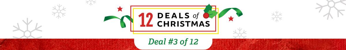 12 DEALS of CHRISTMAS!