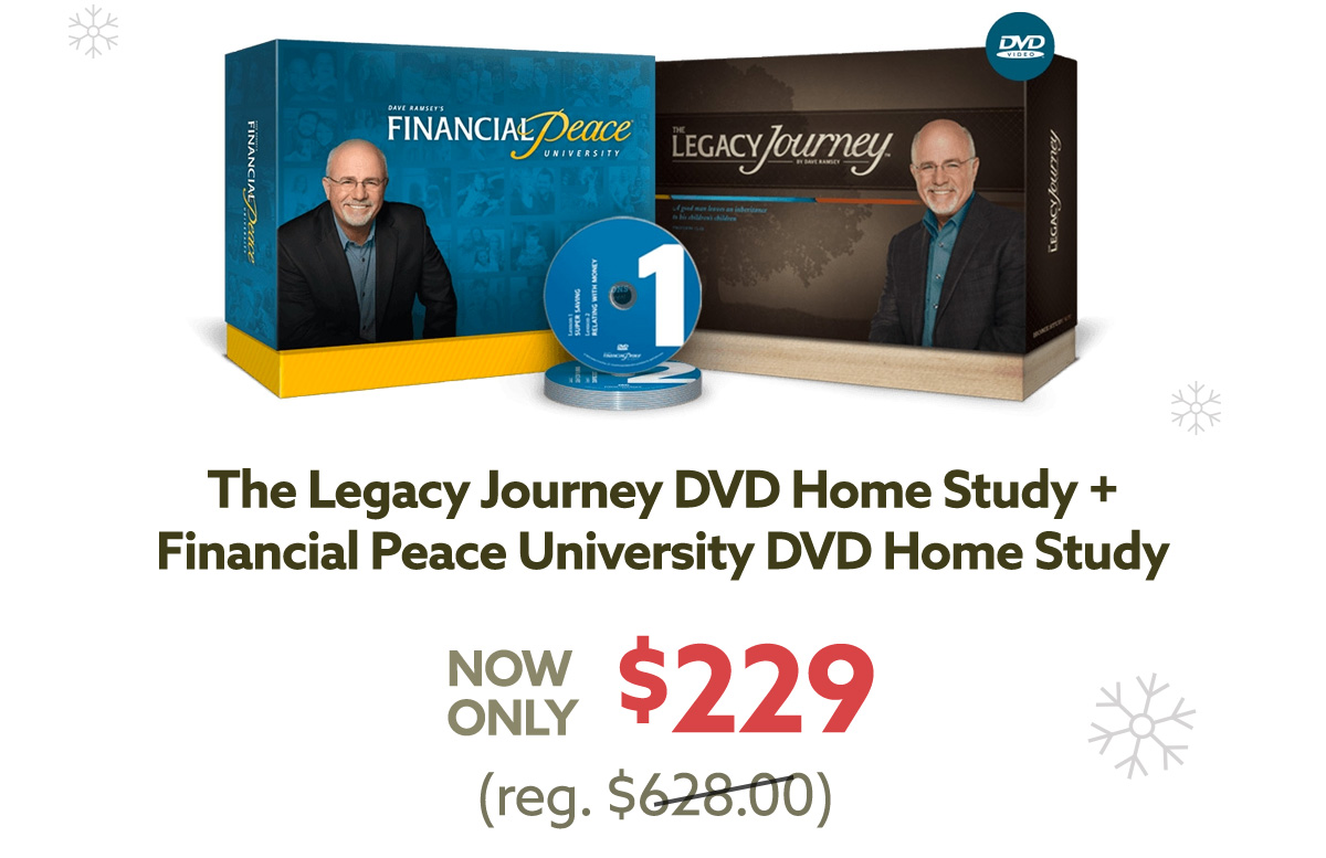 The Legacy Journey DVD Home Study | $129