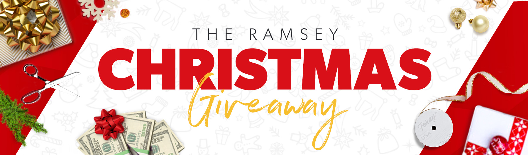 The Ramsey Christmas Giveaway | DaveRamsey.com