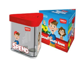 Junior's Smart Saver Bank