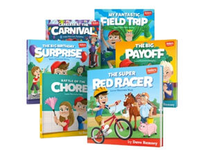 Junior's Adventures 6 Book Boxed Set
