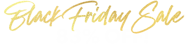 Black Friday Sale: Up to 83% Off