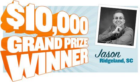 $10,000 Grand Prize Winner
