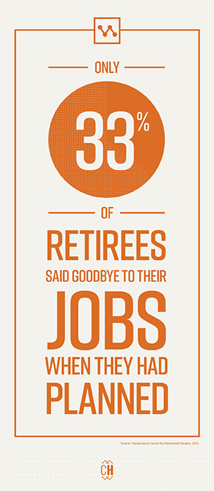 Retirees say goodbye to their jobs sooner than expected