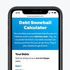 debt snowball calculator