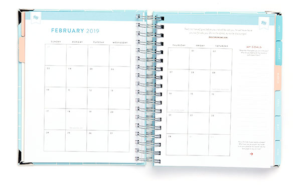 Business Boutique Goal Planner: Monthly View