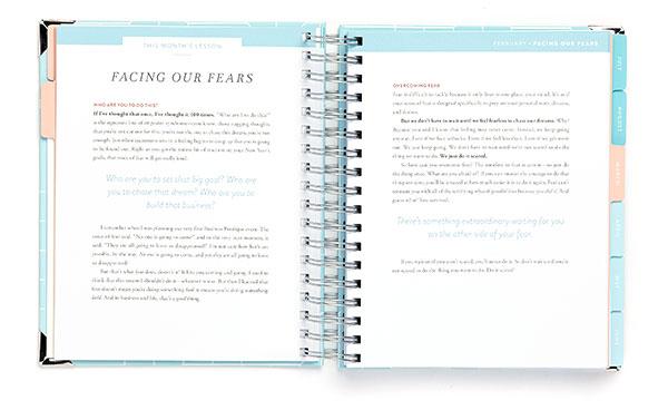Business Boutique Goal Planner: Teaching Segments