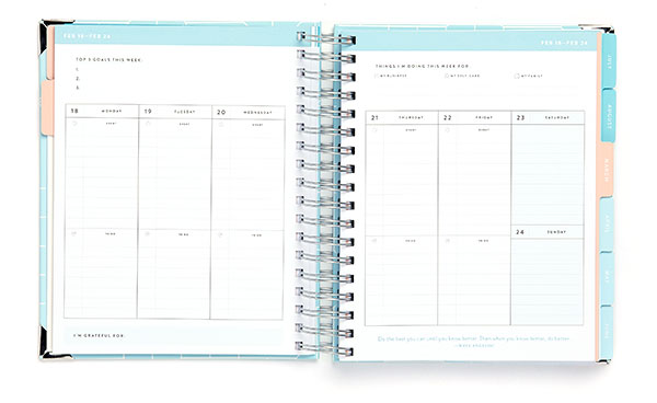 Business Boutique Goal Planner: Weekly Views