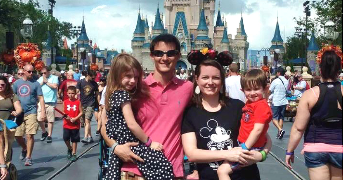 a family at Walt Disney World Resort