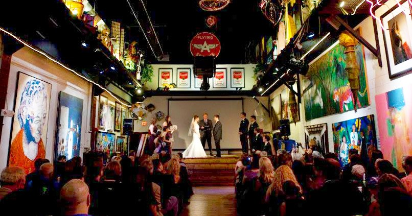 Art Gallery Wedding Venue