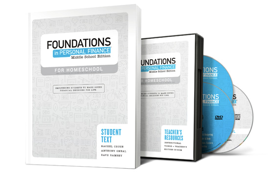Foundations in Personal Finance: Middle School Edition for Homeschool product image
