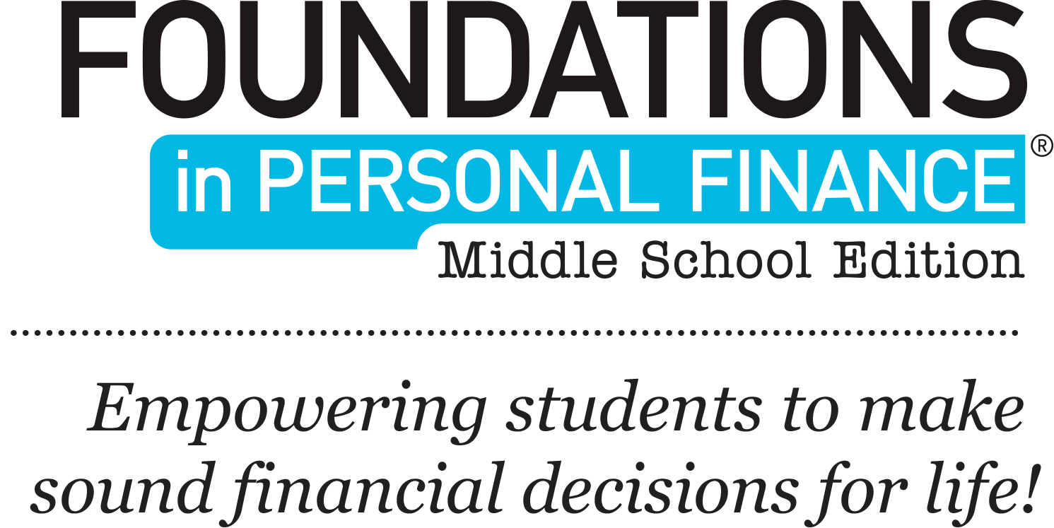 Foundations in Personal Finance Middle School Edition