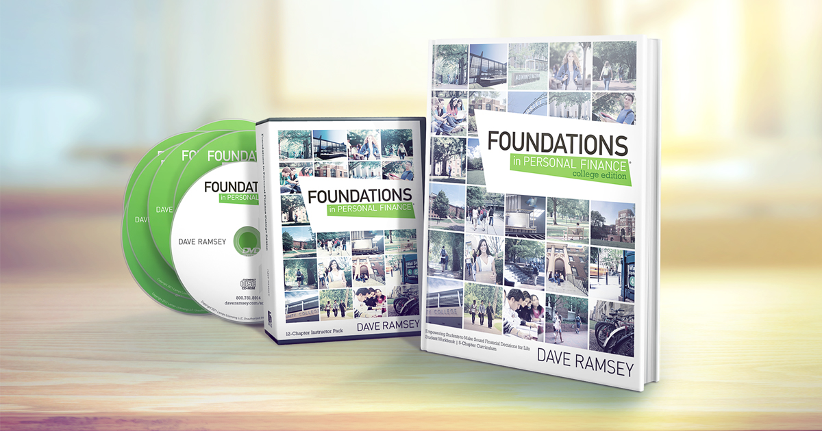 Foundations in personal finance college edition daveramsey fandeluxe
