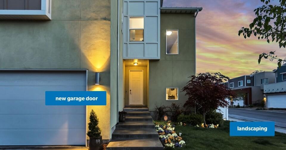 Home Renovation: Landscaping and Garage Door