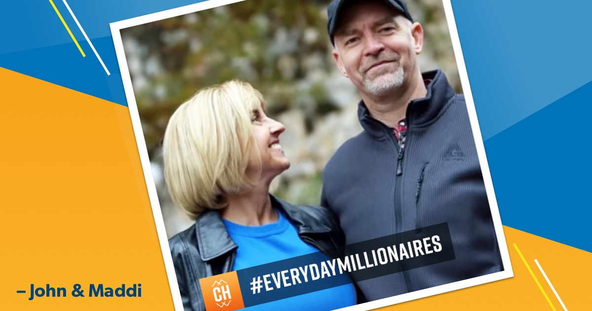 From Facing Debt and Divorce to Everyday Millionaires: John & Maddi's Story