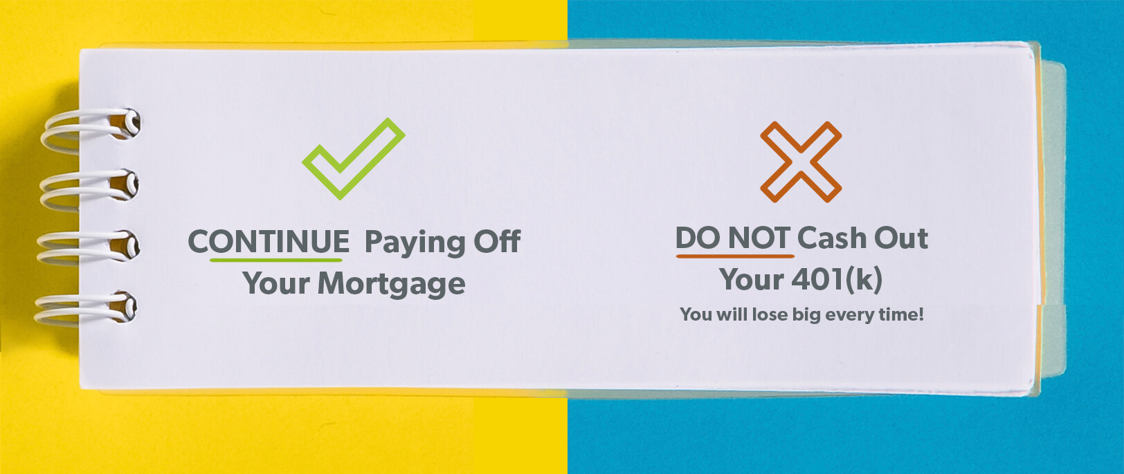Keep the 401(k) or Pay Off the Mortgage? Continue Paying Off Your Mortgage