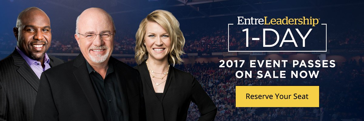EntreLeadership 1-Day | 2017 Event Passes On Sale Now | Reserve Your Seat
