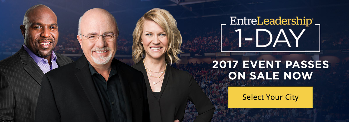EntreLeadership 1-Day | 2017 Event Passes On Sale Now | Select Your City