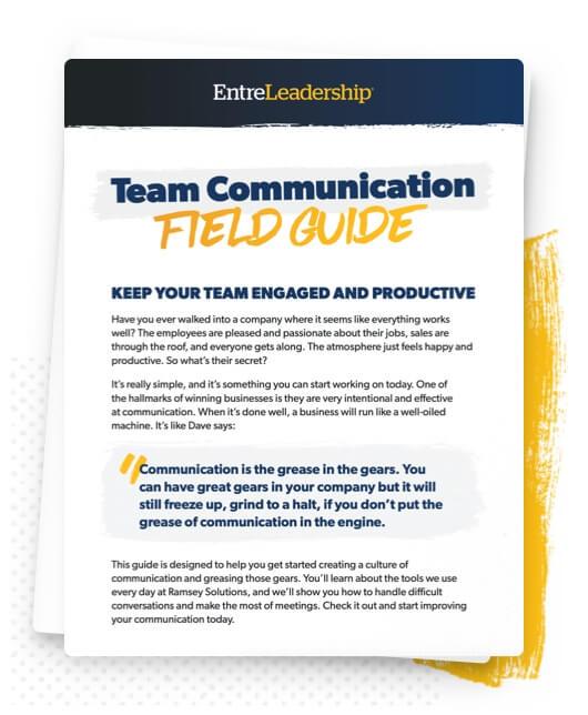 EntreLeadership Communication Guide