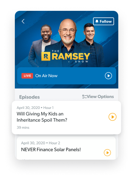 Ramsey Network Episodes Page