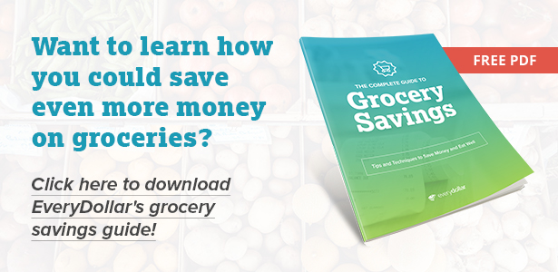 EveryDollar Grocery Savings Guide
