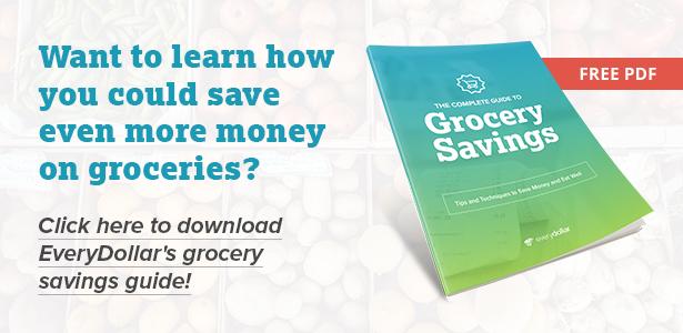 EveryDollar Grocery Savings Guide