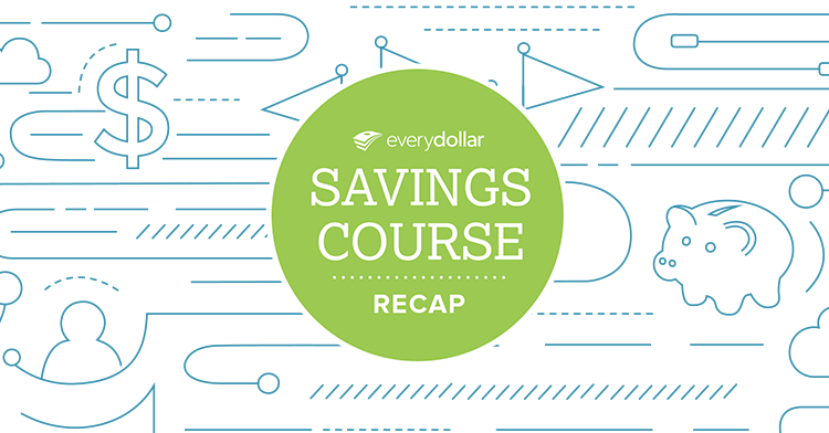 Recap: Your Guide to Saving Through the Year