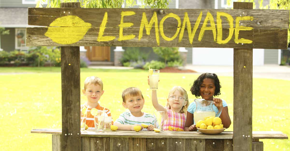 7 Valuable Lessons Learned From a Lemonade Stand