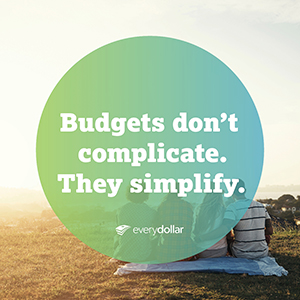 budgets don't restrict, they simplify