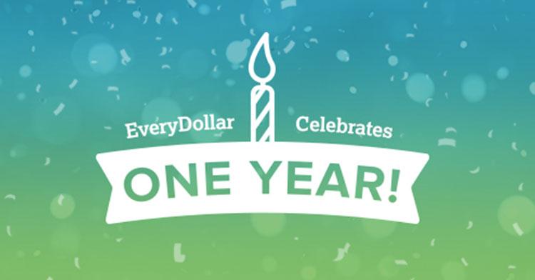 celebrating one year of budgeting