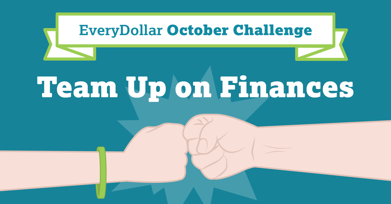 October Challenge: Team Up on Finances